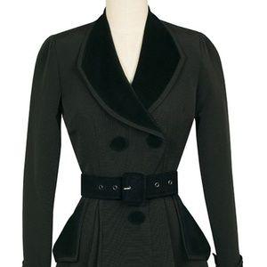 Candice Gwynn Fontaine Coat Trashy Diva 6 Black